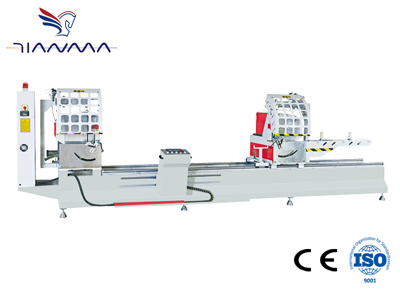 LJZ2-CNC-500×5000 铝门窗双头数控精